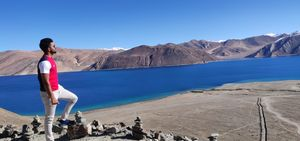Tso Pangong lake,