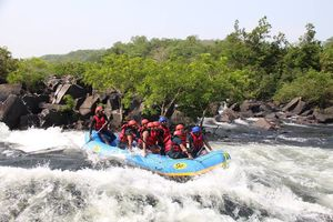 Monsoon River Rafting in Goa | Video