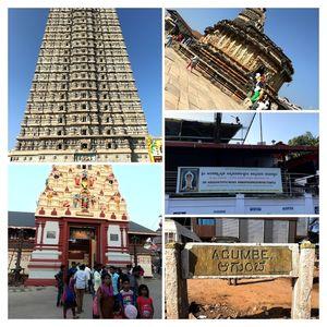 Murudeshwar-Udupi-Kollur-Agumbe-Sringeri-Hornadu