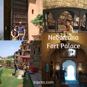 Luxury Trip to Neemrana Fort Palace, Alwar, Rajasthan