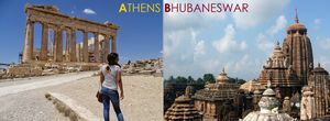 Finding Bhubaneswar in Athens - When Time Travel gets real!