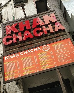 Delhi's best rolls,Serving since 1972.. A trip down the history's food lane - Khan Chacha!!