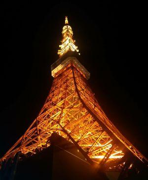 Tokyo Tower - South Asia's La Tour Eiffel !