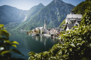 Mountains were calling and I had to go ....beautiful village in Hallstatt,Austria