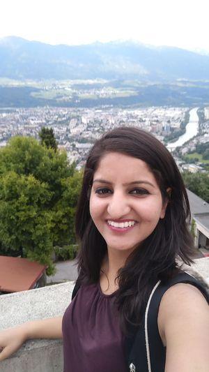 Panoramic view of Innsbruck. #SelfieWithAView #TripotoCommunity