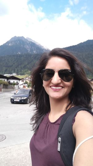 In the Laps of the Alps. #SelfieWithAView #TripotoCommunity