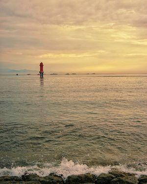 The Sanur Sunset.