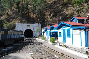 Kalka Shimla Toy train. India's mountain Railway