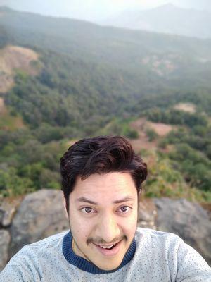 Sunrise at Pratapgadh Fort   #SelfieWithAView #TripotoCommunity