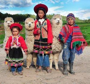 Glimpses of Ethnic attires around the World