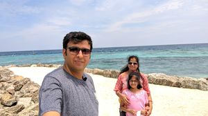 MALDIVES-ON A BUDGET I 4 DAYS IN RS 35K I MAAFUSHI I HULHUMALE