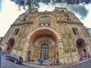 One of the beautiful Cathedral i have been to. New Cathedral, Cuenca, ECUADOR