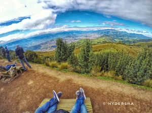World is intoxicating at mountain top #wanderlust #ecuador
