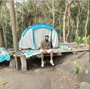 Forest trek and very cheap tent stay wayanad