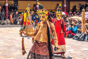 Hemis festival cutest moments