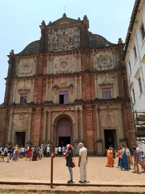 Old Goa heritage church