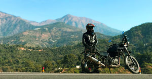 Bike Trip to Auli