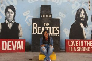 The amazing Beatles Ashram