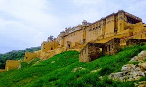 Amer Fort in Jaipur.