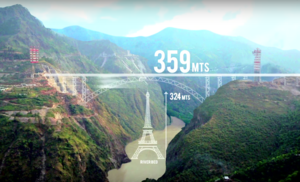 This Railway Bridge In Jammu & Kashmir Over River Chenab Is Higher Than The Eiffel Tower