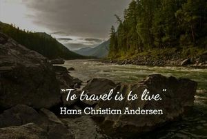 Travel And Let The WORLD Step In