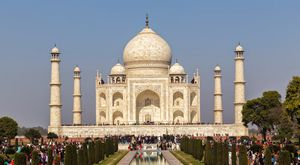 The Taj Mahal- One amongst the 7 wonders of world