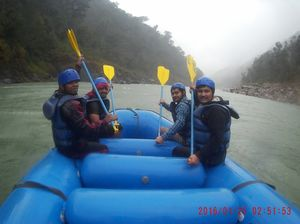 ♡RIVER RAFTING♡ In Rishikesh,Uttarakhand