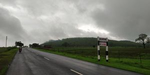 Single day biking route near indore