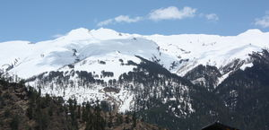 THE LAND OF SNOW CLAD MOUNTAINS: MANALI