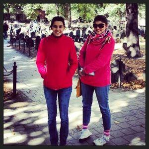 2 Girls storming Boston