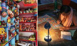 ओडिशा का अनोखा गाँव जहाँ हर घर में एक कलाकार है!