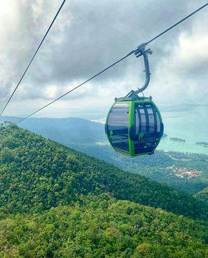 Langkawi sky-cable, Langkawi, Malaysia