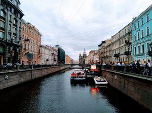 City Break- St.Petersburg.