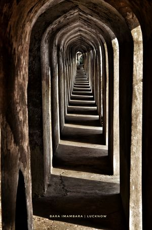 Warning! You can get lost in this Labyrinth (भूल भुलैया), Bara Imambara, Lucknow