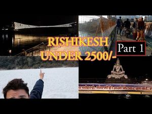 Cheapest trip to Rishikesh | Under 2500 | Things to do at Rishikesh | Krishna Das Kirtan Concert