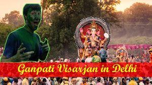 Ganpati Visarjan in Delhi