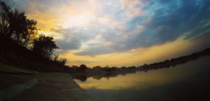 Ameenpur lake - A place where you can just go and relax.