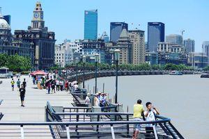 Shanghai Marine Drive :) at The Bund, Shanghai, China.