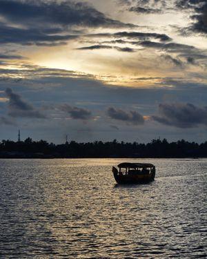 Magical sunsets of kerala #issummerbaharnikal #sunset