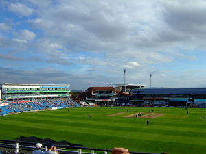 Trip to Leeds cricket stadium of england for Pak Vs Eng 5th ODI