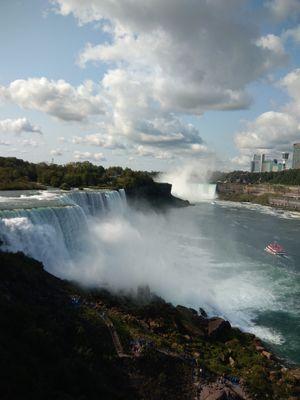 Niagara falls - The world's most beautiful falls