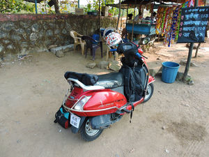 """Scooter""-ing along the Konkan coast, The Mumbai to Bangalore edition;A 2466 km journey on an Activa"