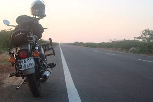Sunrise at Dhanushkodi