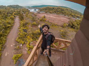 Because when you stop and look around nature is pretty amazing :) #SelfieWithAView #TripotoCommunity
