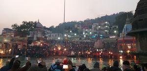 Har har gange... that is all you say when at the ghats of ganga at haridwar uttarakhand