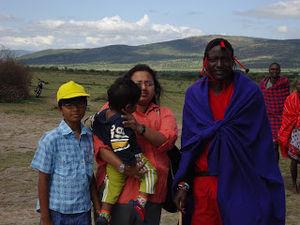 Visit to the Masai village