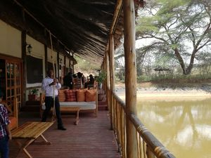 A day out at a fishing lodge near Nakuru