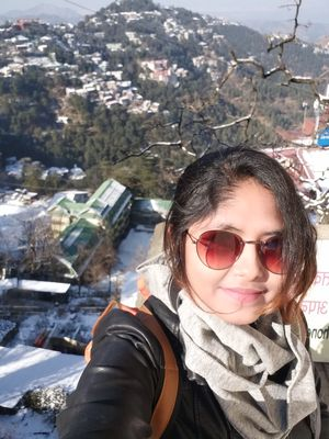 #SelfieWithAView #tripotocommunity  View from Shimla mall road.