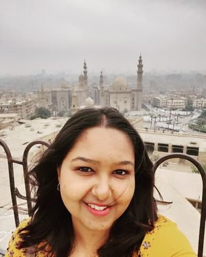 Misty mornings, Old Cairo. #CitadelOfSalahAlDin  #SelfieWithAView #TripotoCommunity #Solotripping