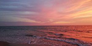 Sunset at cherai beach , kochin....